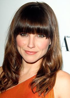 Bangs / La frange Sophia Bush