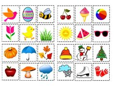 Pŕirazování Craft Activities For Kids, Book Activities, Preschool Activities, Weather Worksheets, Worksheets For Kids, Bingo Pictures, Diy For Kids, Crafts For Kids, Montessori Math