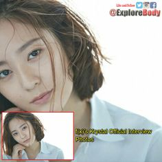 f(x)'s Krystal Official Interview Photos FOLLOW US @ExploreBody #Celebrity #ExploreBody #Hallyu #Korea #Drama #KDrama #Kpop #BHACHE #OTDirecto20E #FelizSabado https://t.co/0c1QVnPp93
