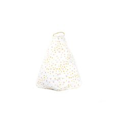 molly meg bean bag, pink and honey sparkle pattern