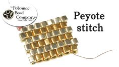 Peyote Stitch Instructions