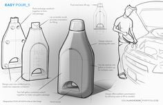 Packaging Concepts by Colin Jackson, via Behance