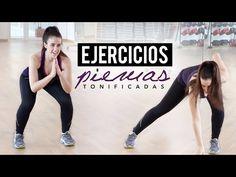 Ejercicios para tonificar piernas   20 minutos - YouTube