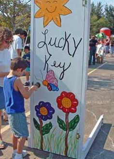 Unique Carnival Game -- Lucky Key