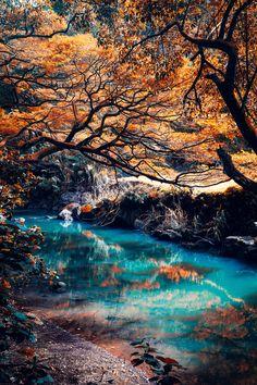Orange & Blue, North Shore, Oahu, Hawaii, by Xabire Urra, on 500px.