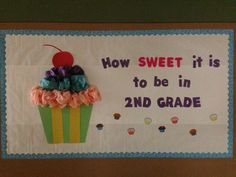 Back to school bulletin board I made and put up in our hallway to welcome back my students. Got this idea off Pinterest! :) Original pin idea came from Second Grade Jelly Beans classroom decor. http://secondgradejellybeans.blogspot.com/2012/08/classroom-makeover.html?m=1: