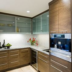 Kitchen ikea sofielund walnut Design Ideas, Pictures, Remodel and Decor