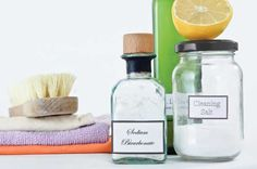 Use baking soda around the house to clean, deodorize, soothe and more.data-pin-do=