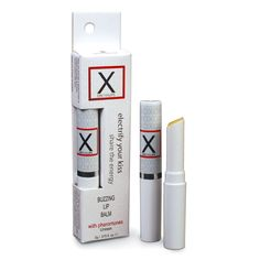 X ON THE LIPS is a unique, buzzing lip balm infused with gender-friendly pheromones that leaves an electrifying kiss impression that someone will never forget.