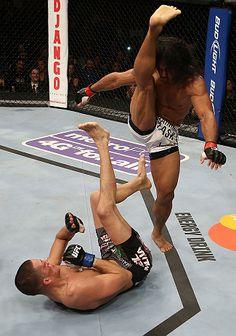 MMA Ax Kick www.facebook.com/McDojoLife