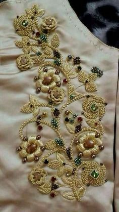 Order contact my whatsapp number 7874133176 Zardosi Embroidery, Hand Work Embroidery, Couture Embroidery, Hand Embroidery Stitches, Embroidery Fashion, Hand Embroidery Designs, Embroidery Dress, Beaded Embroidery, Embroidery Patterns