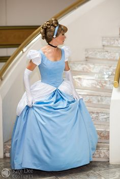 Cinderella Ball Gown Tutorial from Kay-Dee