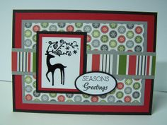 Christmas Card - Stampin Up Best of Christmas