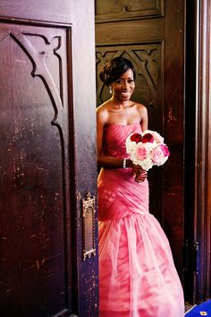 Everything about the Popoola's extravagant blush and cream wedding was the perfect mixture of love and class! See the details on the blog.