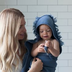 The Stonewash Baby Bath Set includes our baby bath towel and three washcloths which feature a unique stonewash finish. Available in Ash, Clay and Indigo, the range features a modern flat woven top and an absorbent Terry back. The Beach People, Hooded Bath Towels, Baby Towel, Washing Clothes, Indigo, Winter Hats, Collection, Clay, Construction