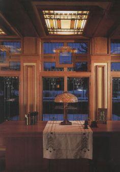 Meyer May House, 1909. Grand Rapids, Michigan. Prairie Style. Frank Lloyd Wright