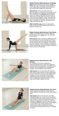 Dancer stretches