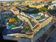 JJW Arkitekter   Sydhavnsskolen - A maritime inspired educational landscape