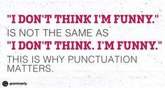 Punctuations matter