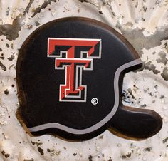 Helmet Magnet - Texas Tech. Fucking 12 messages from Texas tech... I figured...ok, I guess I should look into what they're screaming about... And it's a big campus... Bonus... It has the exact program I'm working my tail off to get into... And it is one of the top schools research wise. It does collaborative research with all of the top schools... The only downside.. Ill be living in Texas... *Cry* . But I'll be both close ish to home... And at a good school. Sigh.. Decisions ... Decisions.