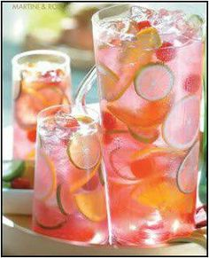 Raspberry sangria #Alcohol #Drinks #Summer #Refreshing I'm starting to think our fun day is going to be filled with LOTS of drinking! Hahah