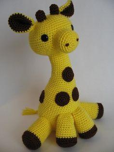 Jirafas tejidos a crochet (2)                                                                                                                                                      Más