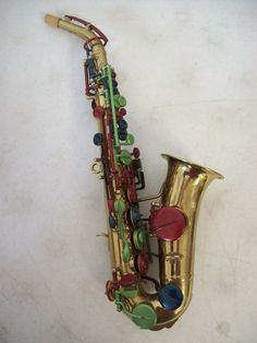 Upcycle saxophone step 1