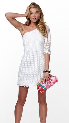 Lily Pulitzer Spring 2011 lace dress