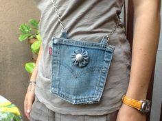 Riciclo da vecchi jeans Levi's