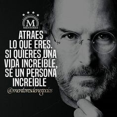 Atraes lo que eres. Doble toque si estás de acuerdo @mentoresdenegocios #frases #quotes #mentores #negocios #libertad #motivacional #exito #luxury #entrepreneur #emprender #emprendimiento #pasion #ser #vida #RepostIt_app by saravys