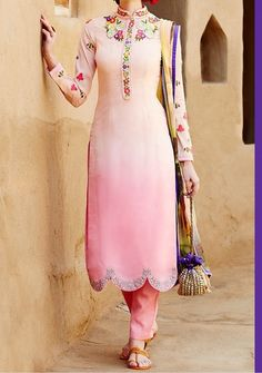 Pretty in Pink with delicate embroiderie - Heer Volume-1 By Kimora Hit Design Salwar Suit