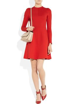 red dress from Valentino