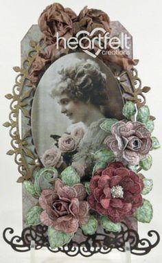 Heartfelt Creations | Vintage Fuchsia Tag
