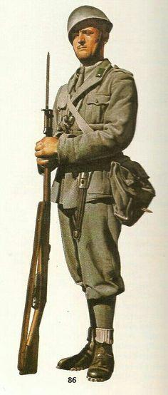 Italian Army infantryman,1940, pin by Paolo Marzioli