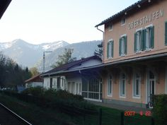 Bahnhof Oberstaufen in Oberstaufen, Bayern