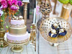 Opulent + Playful Gold Wedding Inspiration