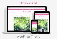 Pretty in Pink Responsive Genesis WordPress theme