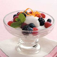 Chantilly Fruit Topping Recipe