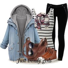 casual girly style