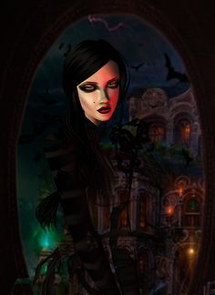 IMVU, the interactive, avatar-based social platform that empowers an emotional chat and self-expression experience with millions of users around the world. Halloween 2015, Halloween Themes, Virtual World, Virtual Reality, Imvu, Avatar, Artwork, Pictures, Photos
