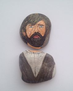 Tyrion Lannister fridge magnet, painted on stones