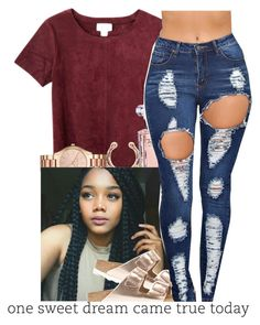 """""""untitled #140"""" by yani122 ❤ liked on Polyvore featuring Monki, Lancôme, Michael Kors and Birkenstock"""