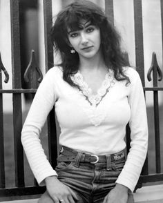 Kate Bush, 1978 can I just say her voice is just the best for female artist and her creativity is superb I know she still in the business not like before but she is my love. such range get the chills just thinking about her.