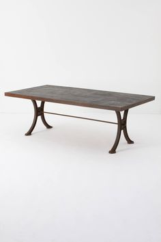 Burnt Wood Dining Table - anthropologie.com $1,598.00