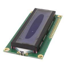 C0030 무료 배송 2 개 5 볼트 lcd 1602 블루 스크린 문자 LCD 디스플레이 모듈 블루 Blacklight 새로운 화이트 코드 뜨거운 판매
