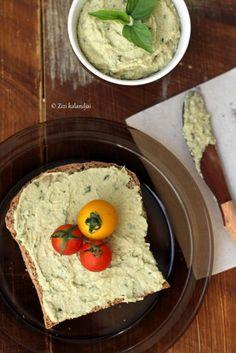 Bazsalikomos humusz + a jó hír : Zizi kalandjai – Valódi ételek, valódi történetek