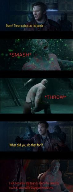 Metaphorically Incapable Drax Gaurdians Of The Galaxy, I Understood That Reference, Nerdy Things, Avengers, Funny Stuff, Comic Books, Marvel, Comics, Funny Things