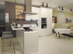 Moderne (half)open keuken.