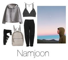 """Star gazing with Namjoon"" by infires-jhope on Polyvore featuring Boutique, WithChic, Monki, Dr. Martens and STELLA McCARTNEY"