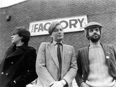 Peter Saville; Tony Wilson; Alan Erasmus